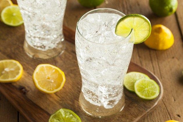 Refreshing Lemon and Lime Soda