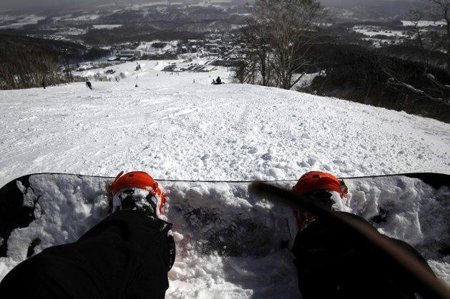 Snow Resort and Mountains Niseko