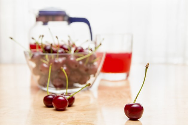 cherry and compote