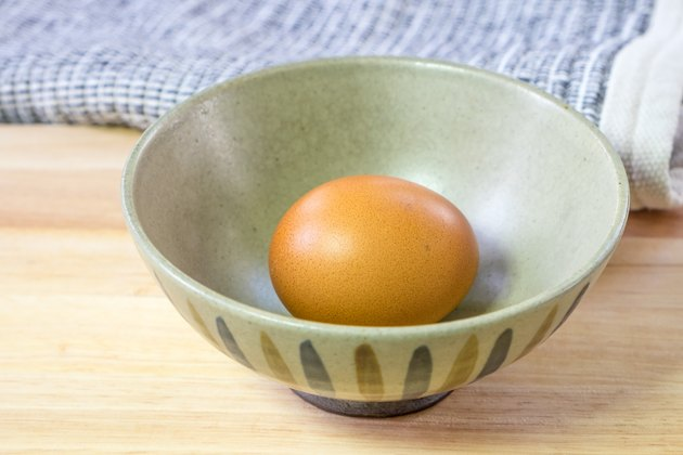 boiled eggs in Japanese Bowl