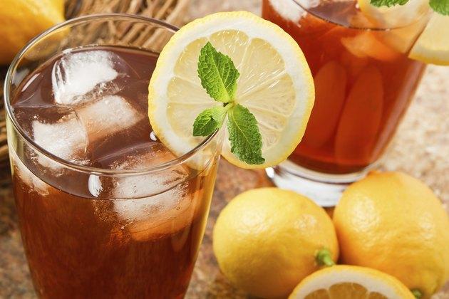 Delicous Ice Tea Drink