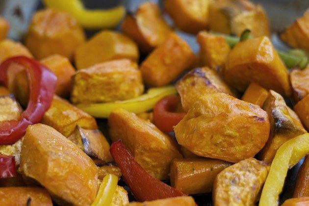 Vegan/ Vegetarian Sweet Potatoes Meal