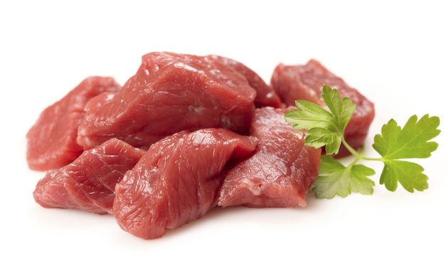 fresh raw meat