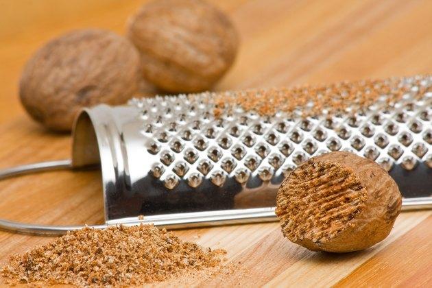Nutmeg with grinder