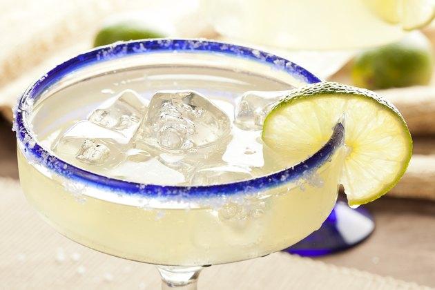 Fresh Homemade Margarita with Lime