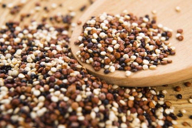 tricolor quinoa grain