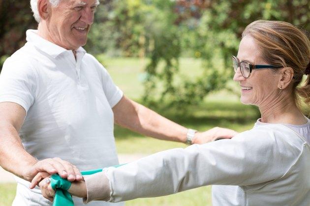 Active senior marriage improving condition
