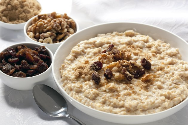 low calorie foods nutrient dense foods oatmeal