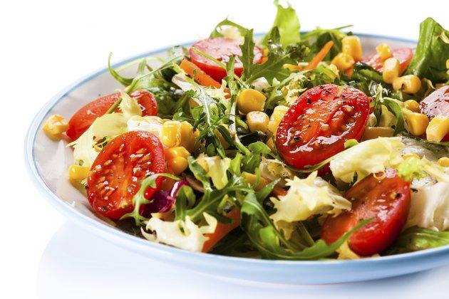 Healthy eating - vegetable salad
