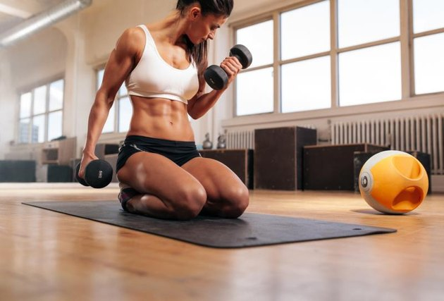 Exercises to Tone Your Stomach, Arms, Hips, Thighs & Butt