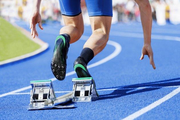 sprinter stadium start blue tartan
