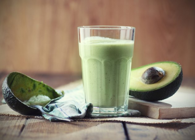 Green Avocado smoothie