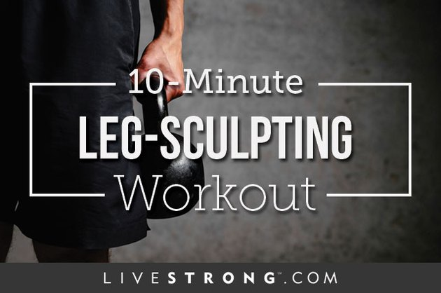 In just 10 minutes, you'll sculpt a seriously strong lower body.
