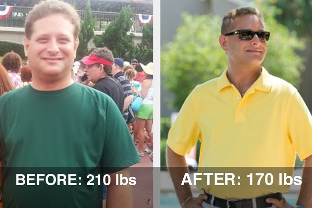 MyPlate free calorie tracker helped Evan lose 40 pounds.