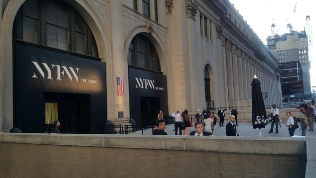 New York Fashion Week gets underway in NYC.