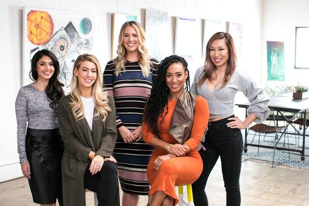 From left to right: Payal Kadakia, Anna Victoria, Britney Vest, Lita Lewis and Cassey Ho