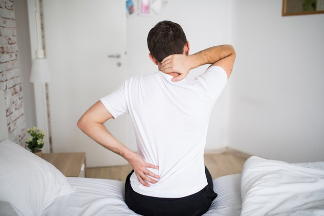 man with aching back