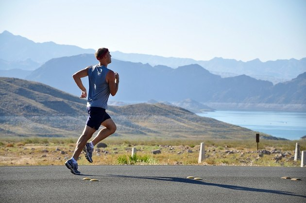 Running and jogging don't require very much equipment to do.