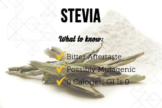 Stevia as a sugar substitute