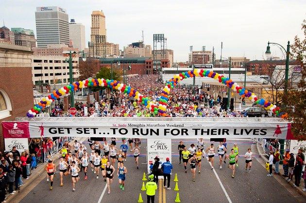 St. Jude Memphis Marathon Weekend charity race