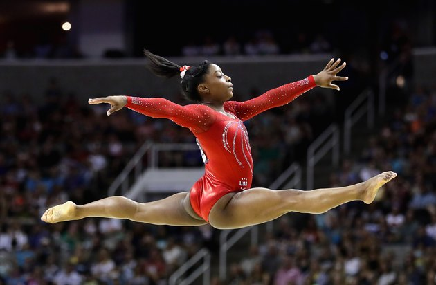 Simone Biles Olympic Trials