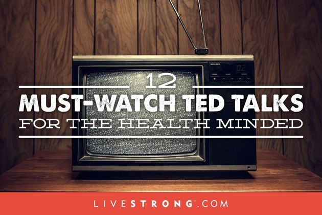 Sharpen your health and fitness knowledge with these  TED Talks.