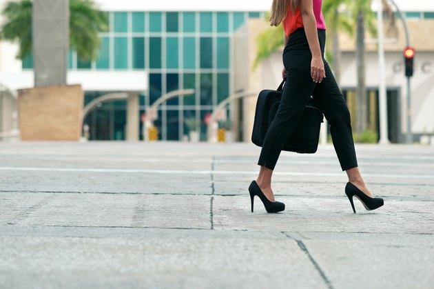 Wearing high heels every day may cause irreversible damage.