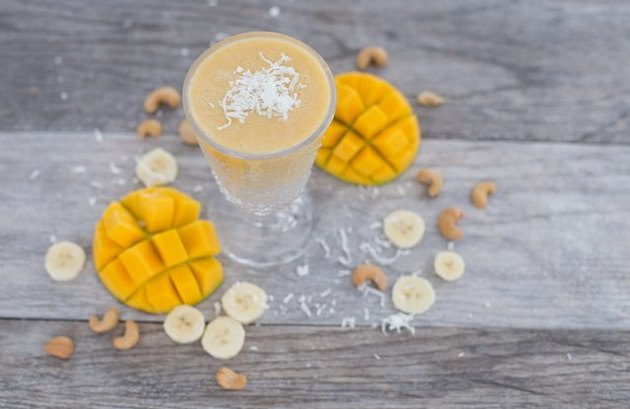 Coconut and Citrus Sunshine Smoothie
