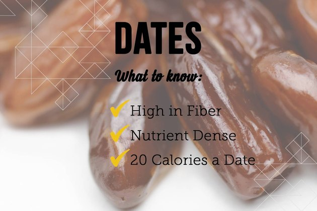 Dates as a sugar substitute
