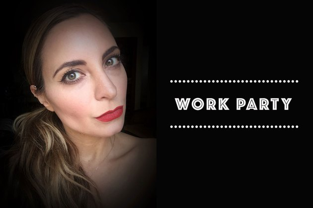 Dress up -- and makeup -- to impress at work functions.