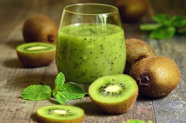 Kiwi is a great post-workout food.