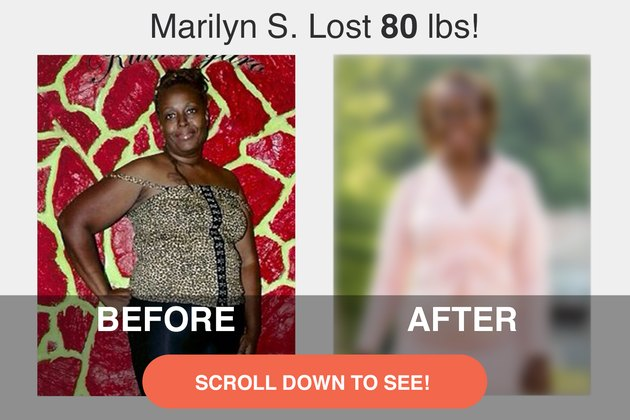 Read on to see Marilyn's impressive transformation.