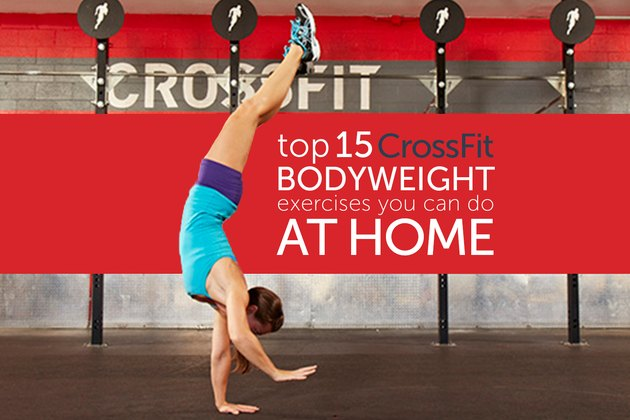 These are 15 15 CrossFit Bodyweight Exercises You Can Do at Home