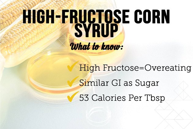 High-fructose corn syrup as a sugar substitute