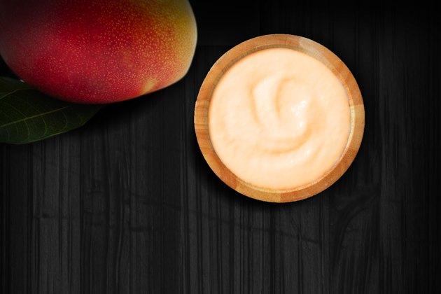 Coconut-Mango Cream healthy late night snacks