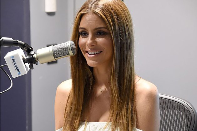 Maria Menounos on Sirius radio.