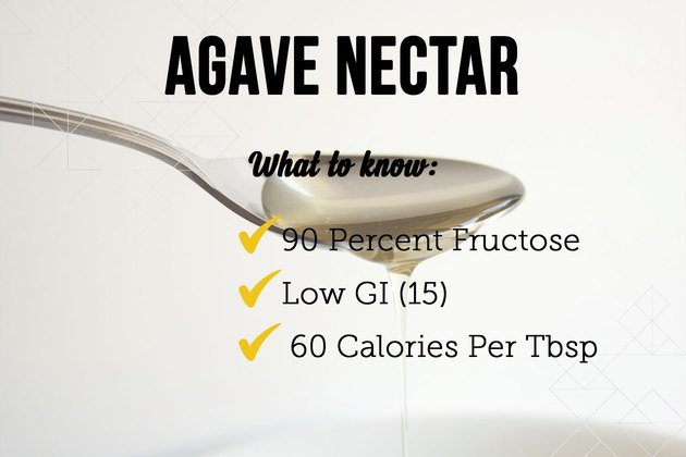 Agave nectar as a sugar substitute