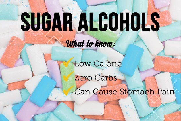 Sugar alcohols as sugar substitutes