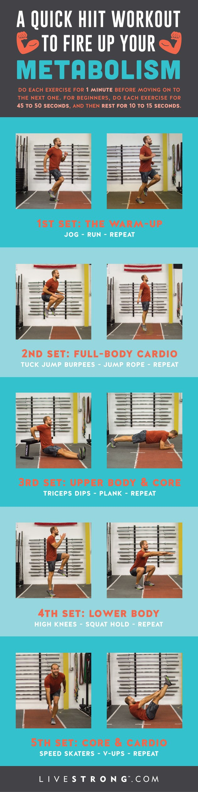 Take this printable one sheet with you so you can work out on the go.