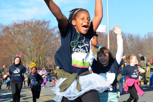 Girls on the Run 5K charity race