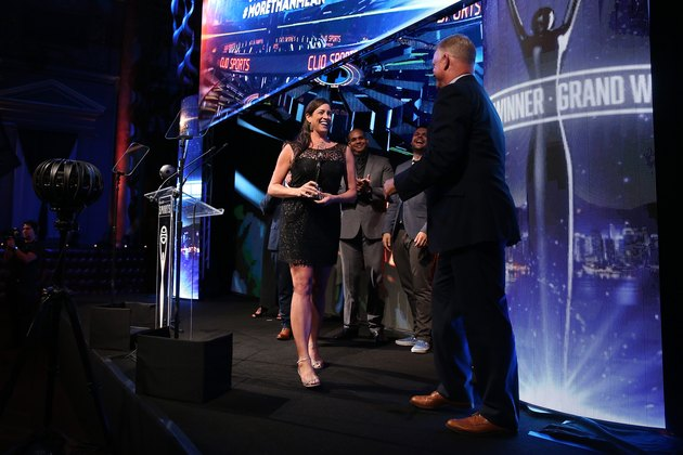 Sarah Spain receives CLIO Award