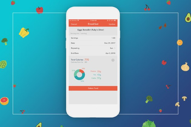 food tracking on MyPlate calorie tracker
