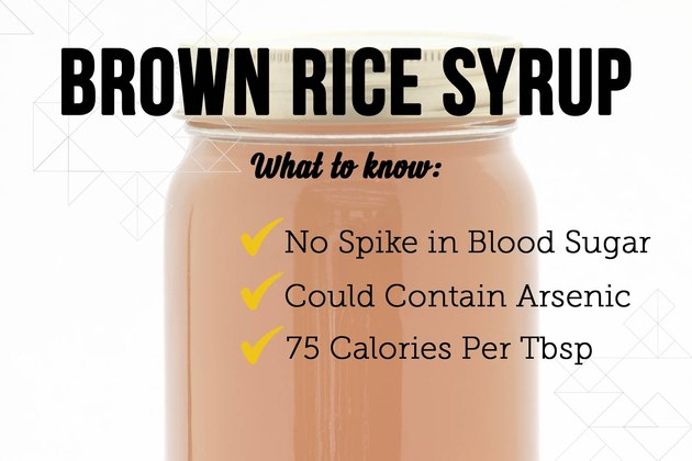 Brown rice syrup as a sugar substitute