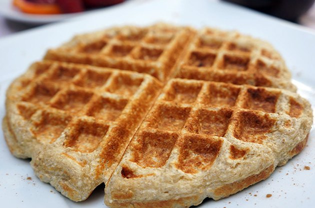 Gluten-Free Protein-Packed Cinnamon Roll Waffles Protein Powder Recipes