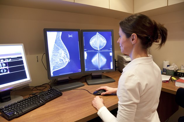 Too much caffeine may create cysts in the breasts, leading to inaccuracies mammogram.
