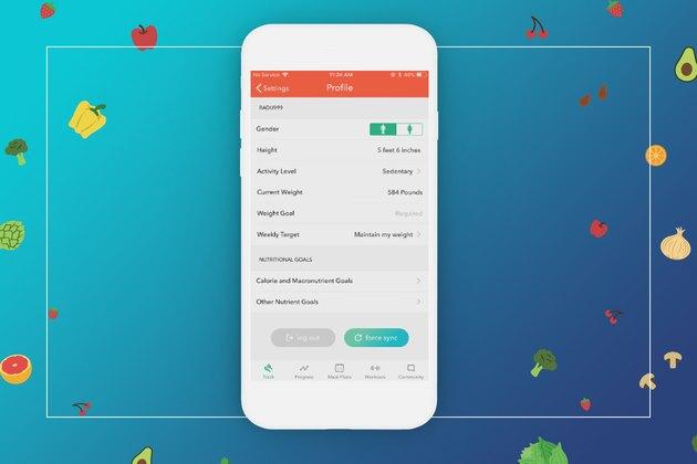 myplate calorie tracker