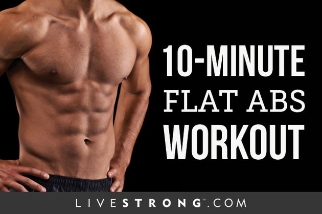 In just 10 minutes, you'll be on your way to flatter abs.