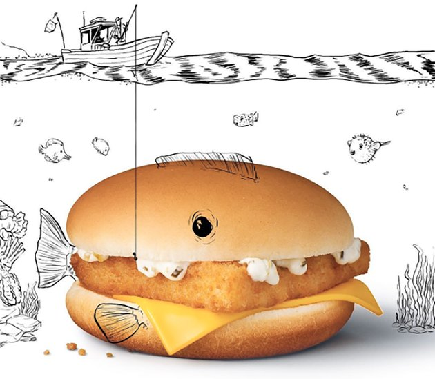 McDonald's Filet-O-Fish sandwich
