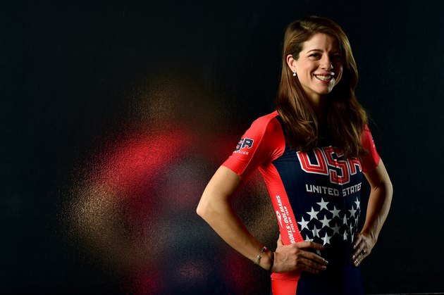 Evelyn Stevens cycling world record