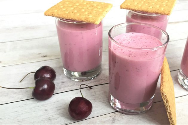 Cherry Cheesecake Smoothie